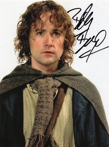 Billy Boyd, The Lord of the Rings, signed 8x6 inch photo.